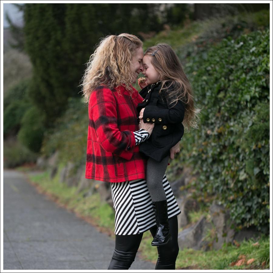 Blog Elliot Lauren Buffalo Plaid Silence Noise Striped Dress Frye Fiona 3 Strap Boots-8