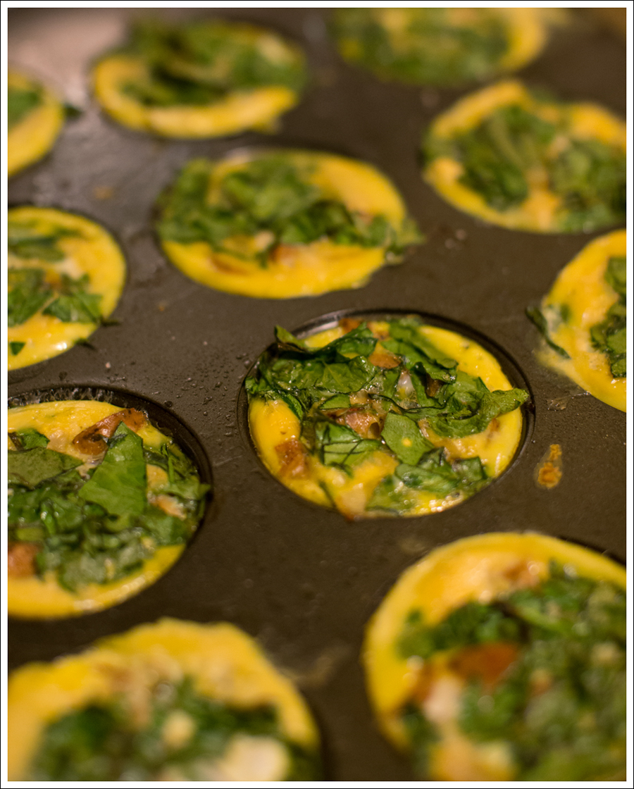 Blog Paleo Whole30 Egg Chicken Sausage Spaghetti Squash Egg Muffins-9