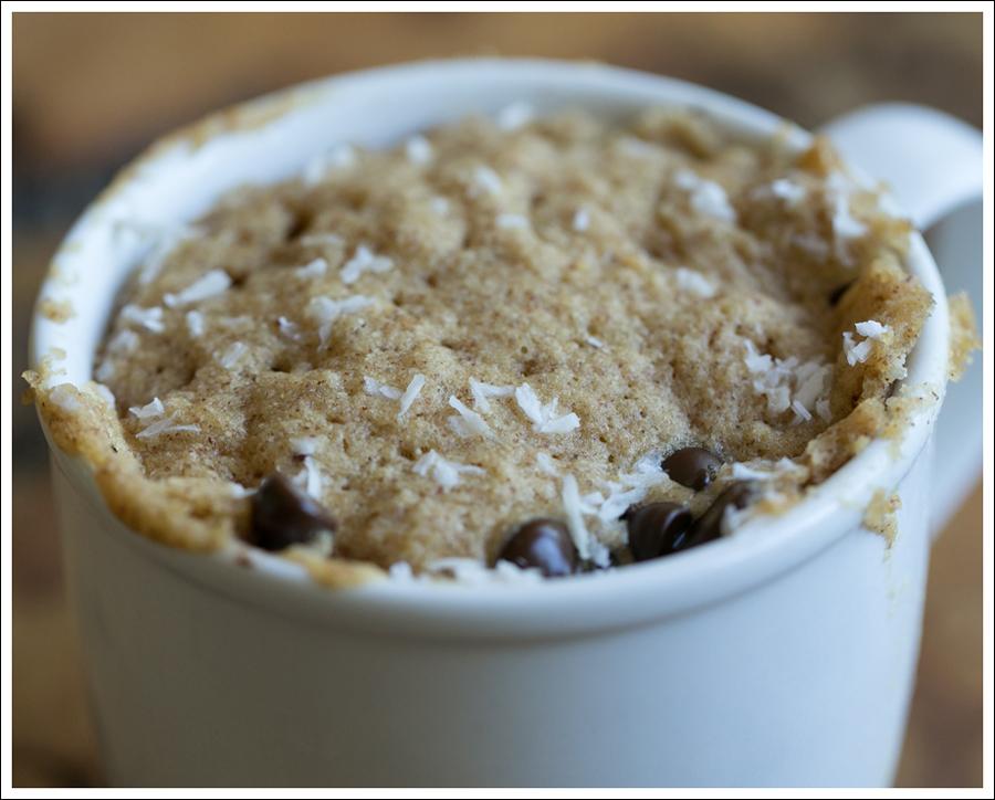Blog Coconut Flour Dark Chocolate Almond Mug Cake-5