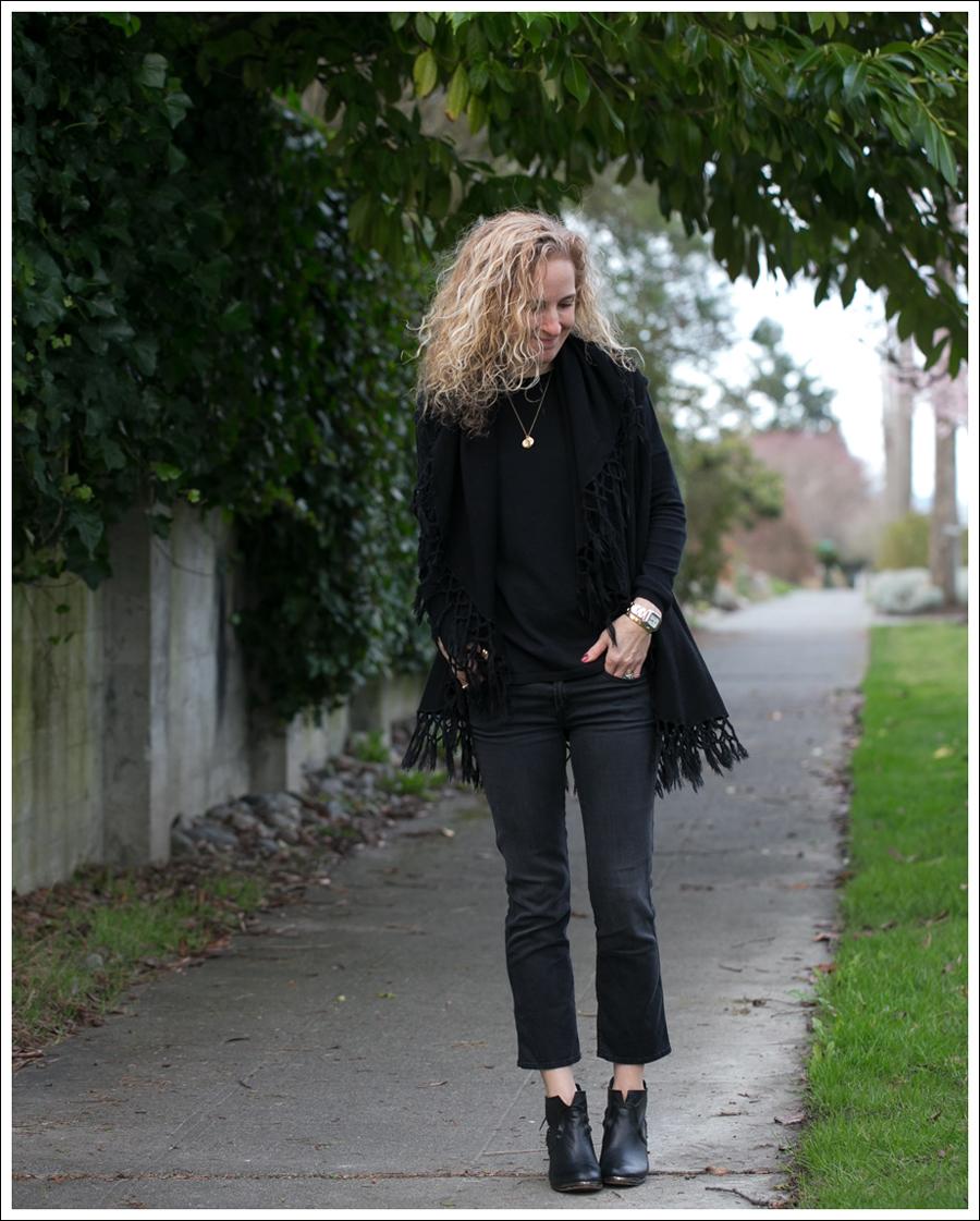 Blog StyleMint Fringe Vest Mother Denim Rascal Crop 67 Booties-1