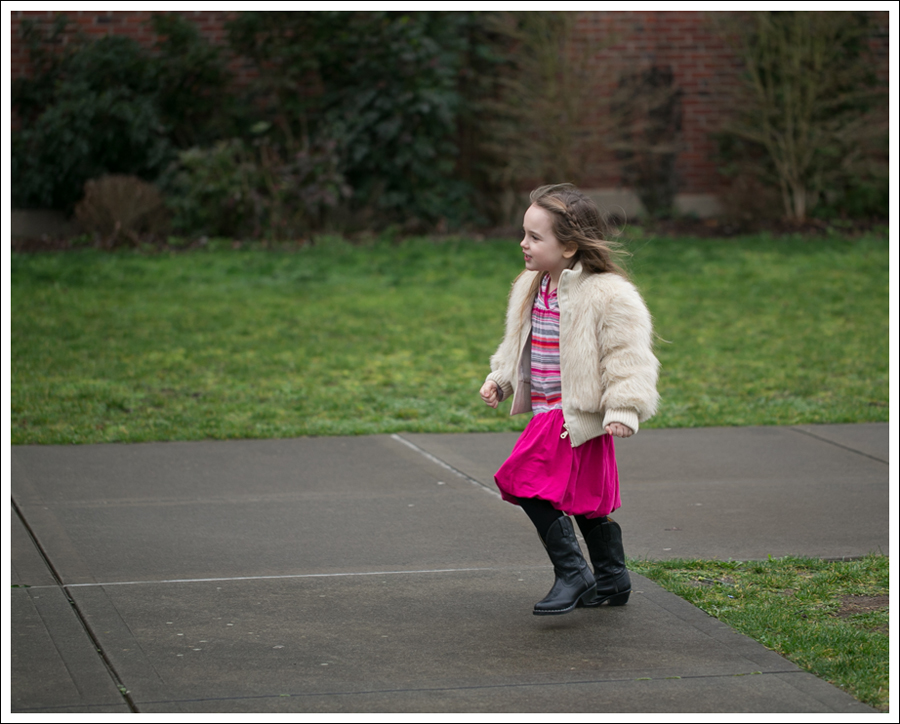 Blog Toddler Faux Fur Jacket Tea Collection Pink Bubble Hem Dress Smoky Mountain Cowboy Boots-3