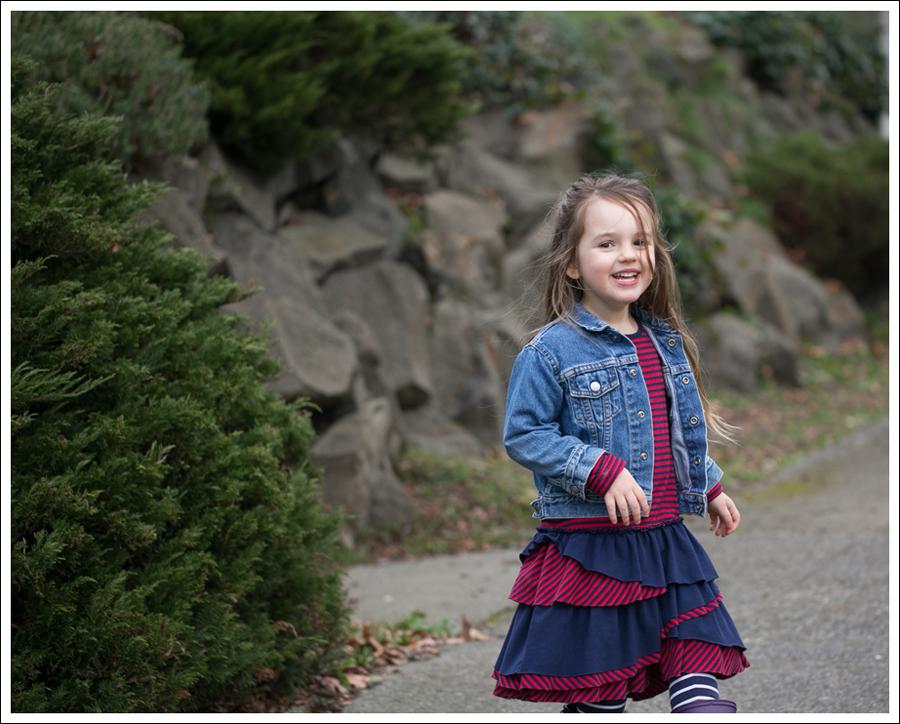 Blog Toddler Levis Jacket Hanna Andersson Tiered Dress Kamik Rain Boots-6