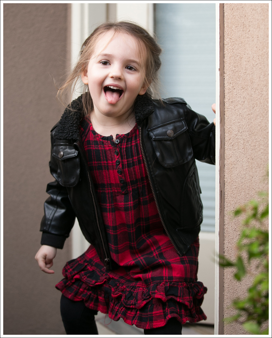 Blog Weatherproof Leather Jacket Buffalo Plaid Hanna Andersson Old West Boots-3