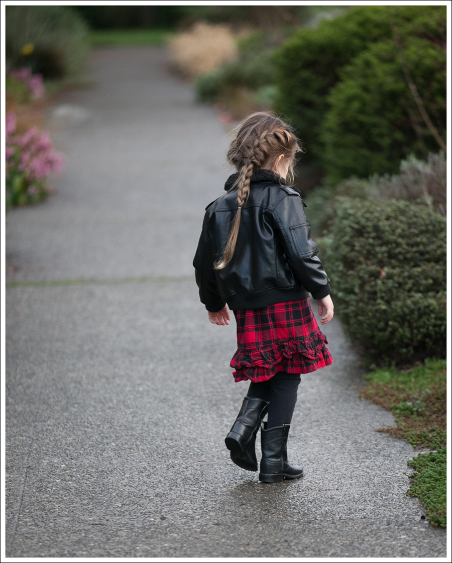 Blog Weatherproof Leather Jacket Buffalo Plaid Hanna Andersson Old West Boots-5