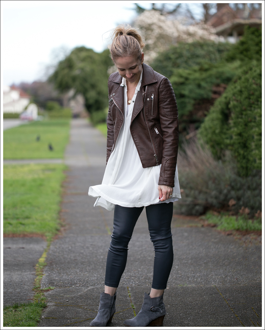 Blog Zara Faux Leather Free People Snap Out of it Vince Leather Leggings Lola Kiem Booties-2