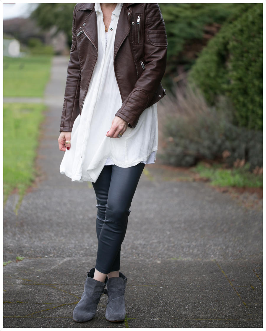 Blog Zara Faux Leather Free People Snap Out of it Vince Leather Leggings Lola Kiem Booties-3