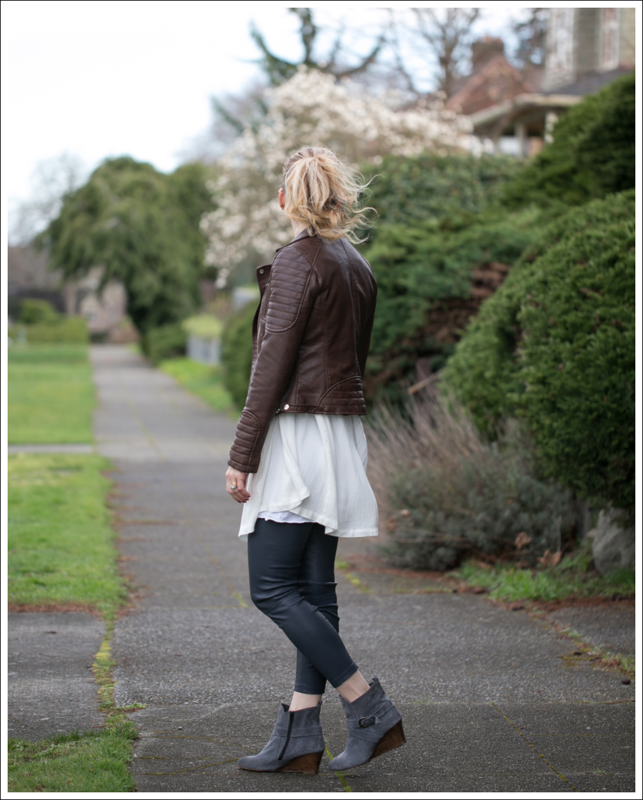 Blog Zara Faux Leather Free People Snap Out of it Vince Leather Leggings Lola Kiem Booties-4
