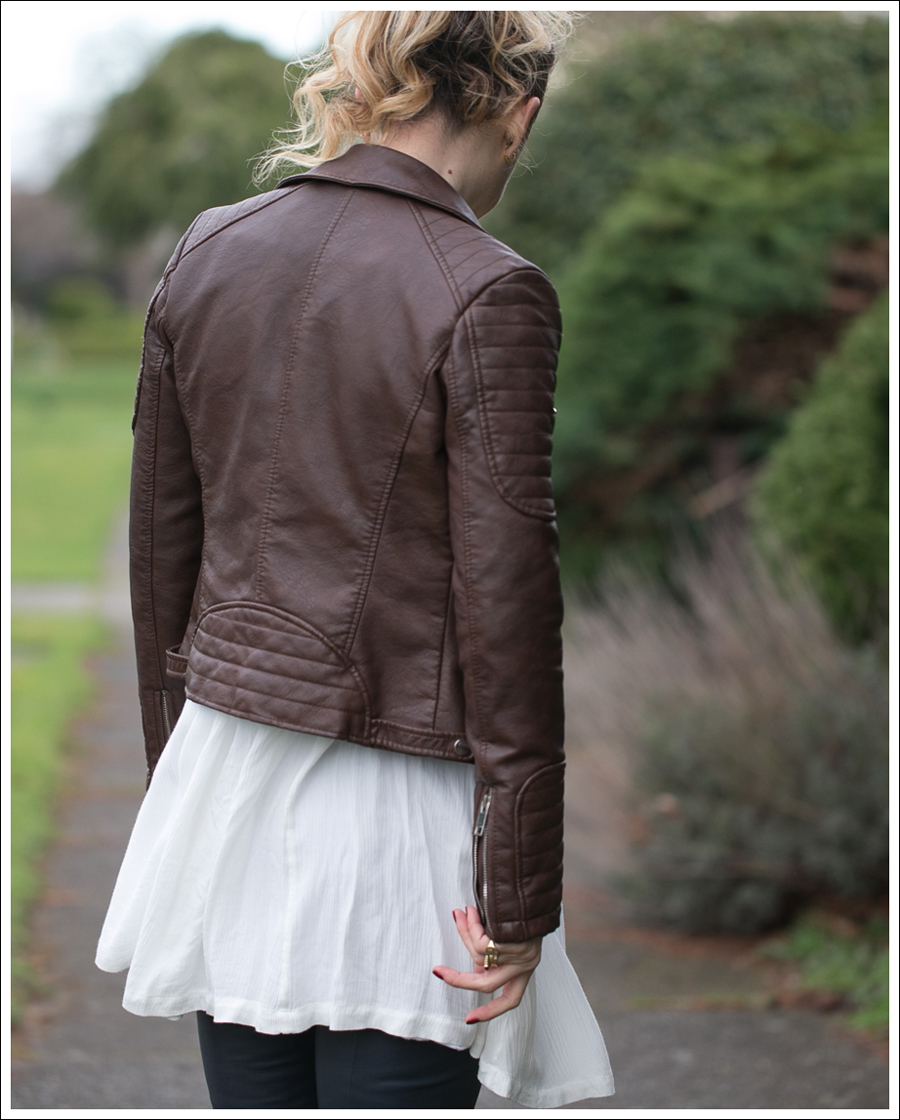 Blog Zara Faux Leather Free People Snap Out of it Vince Leather Leggings Lola Kiem Booties-5