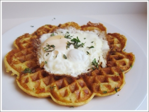 savory herb cheese waffles blog (2)
