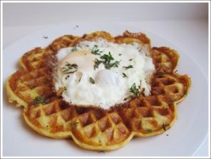 savory herb cheese waffles blog (2)