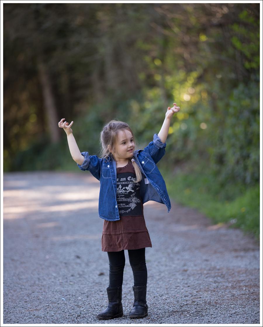 Blog Hanna Andersson Denim Shirt Hannah Banana Rocker Dress Joseph Allen Boots-1