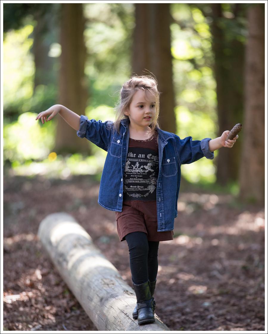 Blog Hanna Andersson Denim Shirt Hannah Banana Rocker Dress Joseph Allen Boots-6