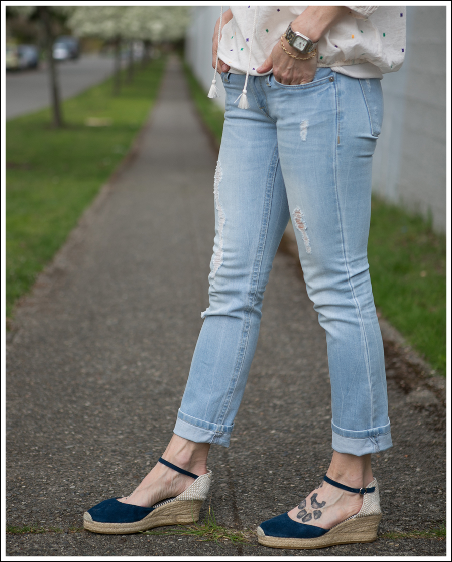 Blog J Crew Boho Top DL1961 Kate Cropped Chaos Facconable Espadrilles-4