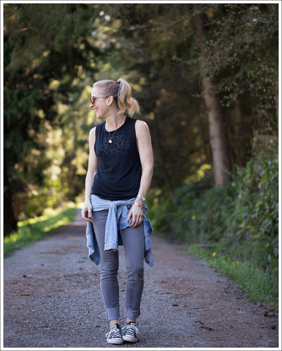 Blog LBBrand PLM Black Levis Jeans Shirt Hudson Gray Collin Skinny Jeans Black Converse-1
