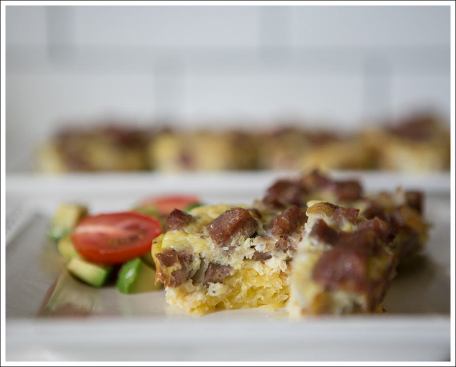 Blog Whole 30 Paleo Ginger Spaghetti Squash Chicken Sausage Egg Muffins-2