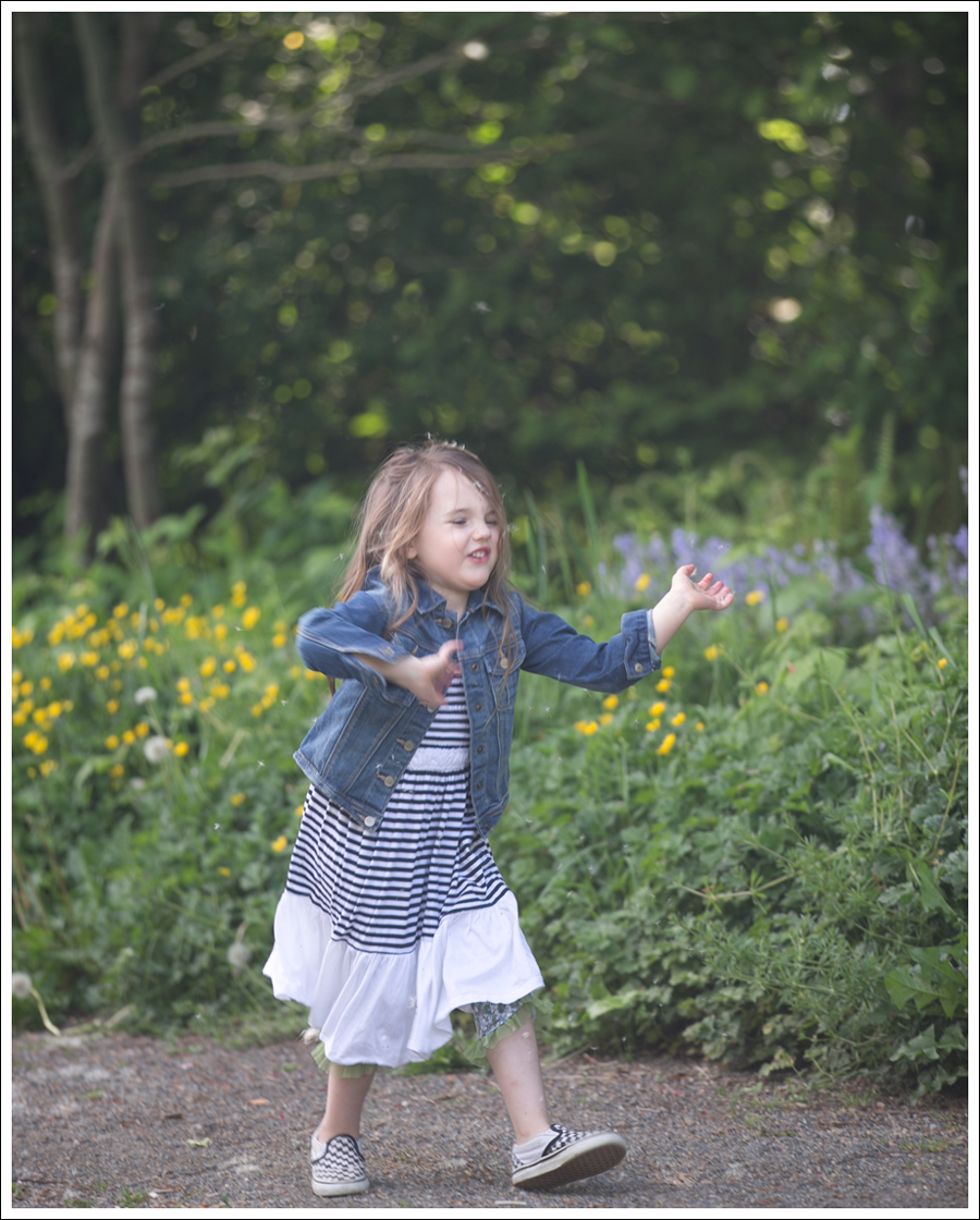 Blog Gapkids Denim Jacket Vintage Havanna Dress Checkered Vans-3