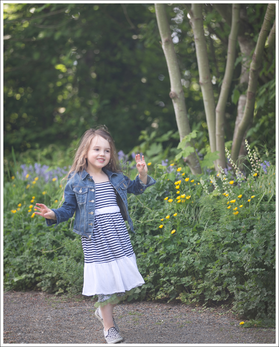 Blog Gapkids Denim Jacket Vintage Havanna Dress Checkered Vans-4