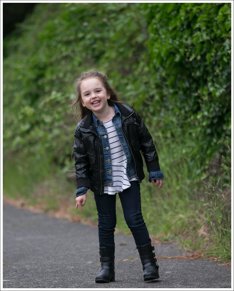 Blog HM Todder Faux Leather Jacket Gapkids Splendid LA DL1961 Chloe Josmo Boots-1
