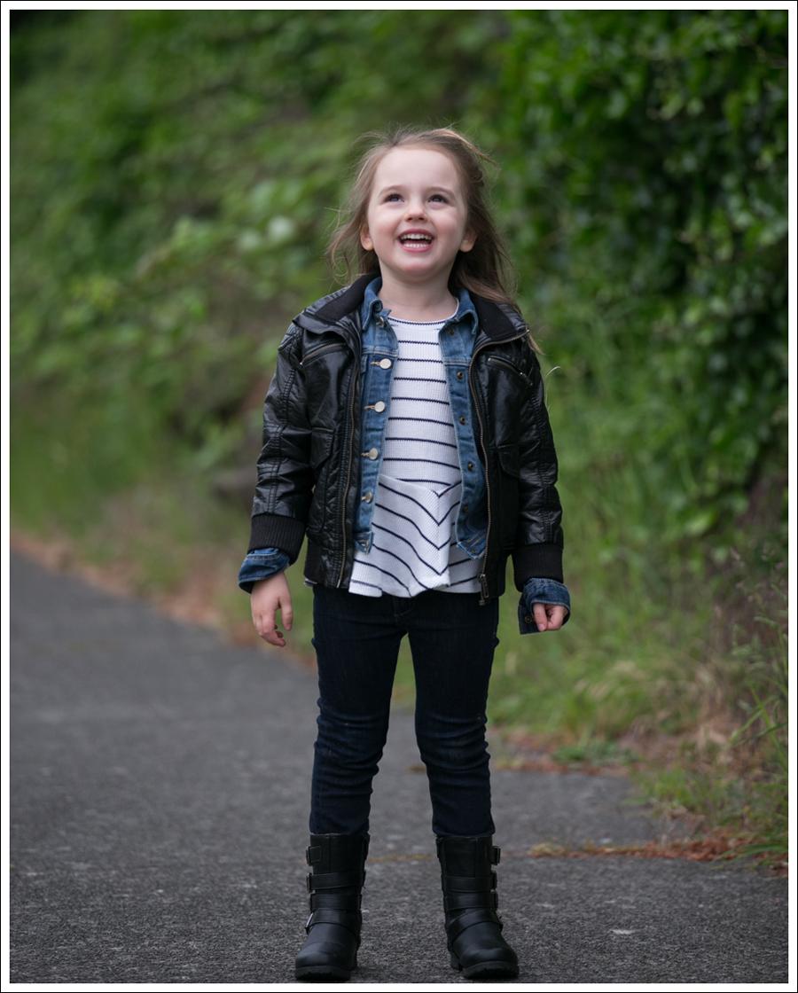 Blog HM Todder Faux Leather Jacket Gapkids Splendid LA DL1961 Chloe Josmo Boots-3