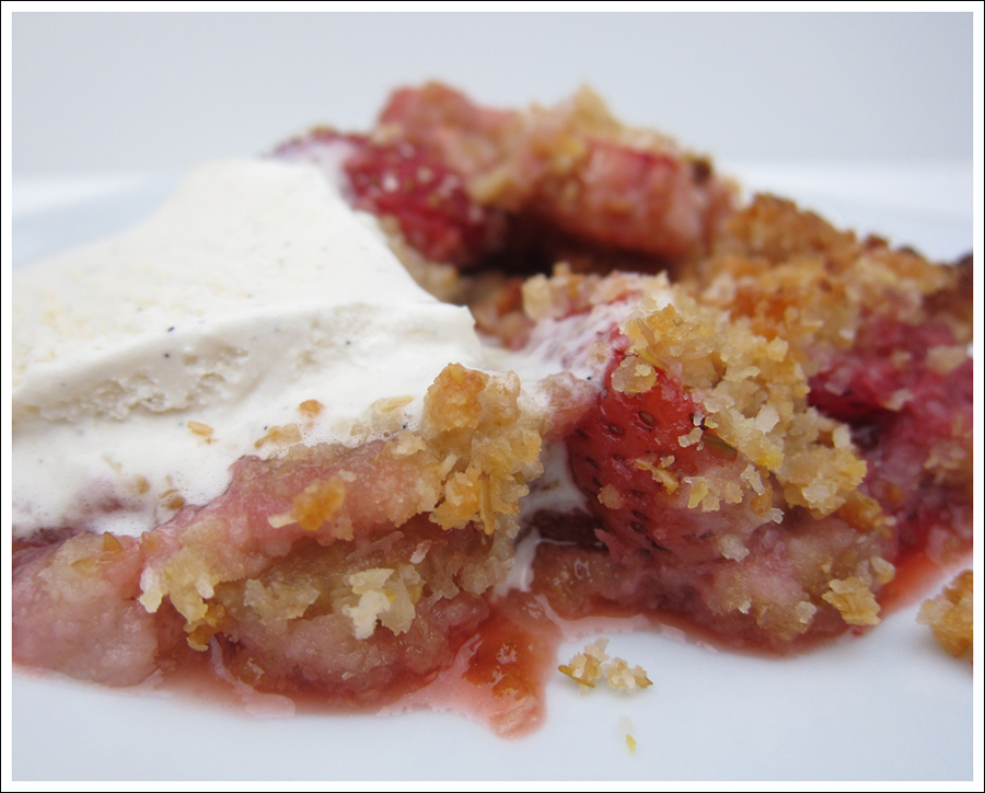 rhubarb strawberry paleo crisp blog (1)