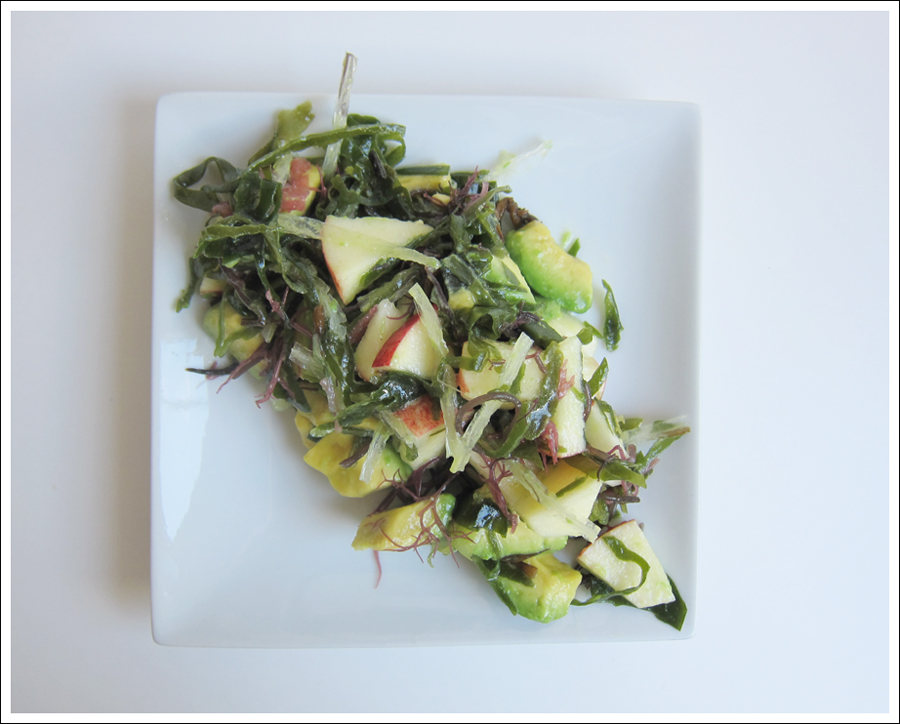avocado and apple seaweed salad blog (2)