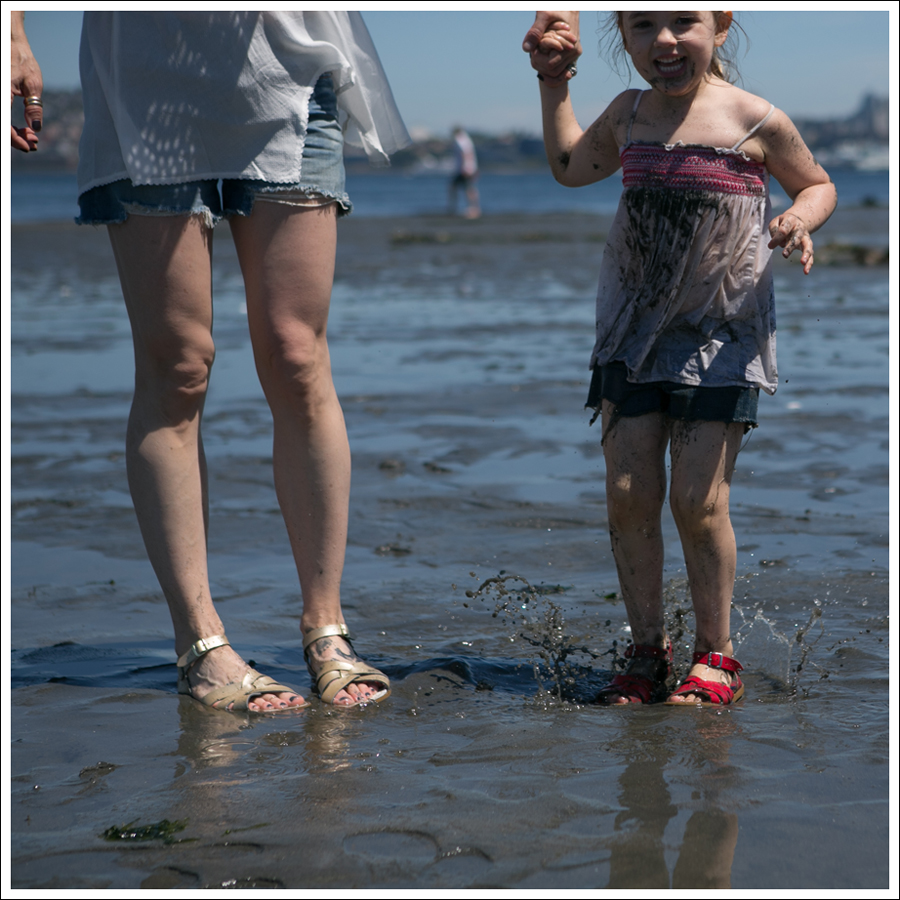 Blog Free People D-ID Boyfriend Shorts Salt Water Sandals Low Tide West Seattle-11