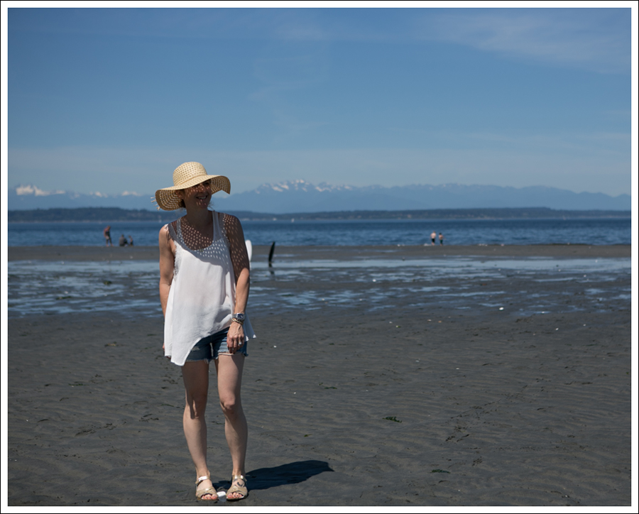 Blog Free People D-ID Boyfriend Shorts Salt Water Sandals Low Tide West Seattle-12