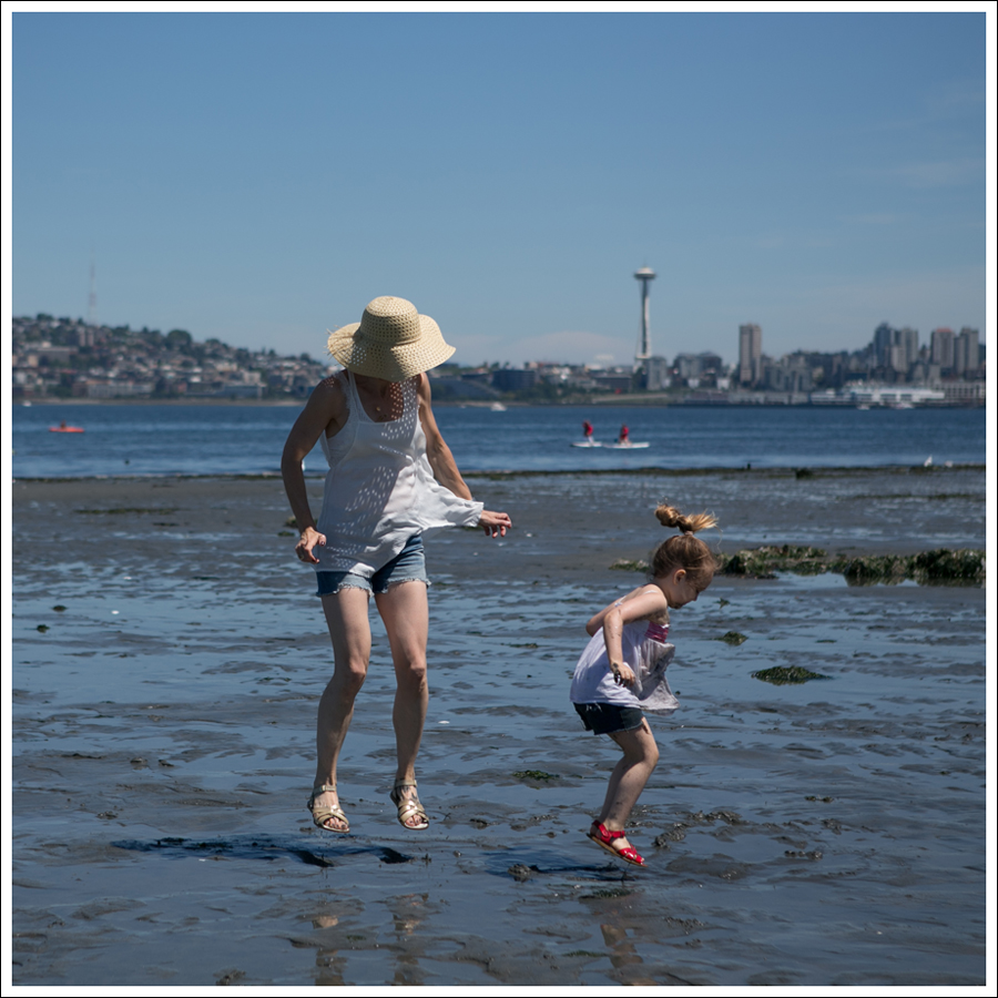 Blog Free People D-ID Boyfriend Shorts Salt Water Sandals Low Tide West Seattle-13