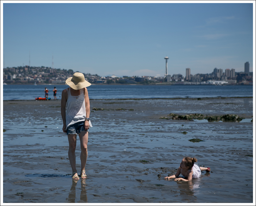 Blog Free People D-ID Boyfriend Shorts Salt Water Sandals Low Tide West Seattle-8