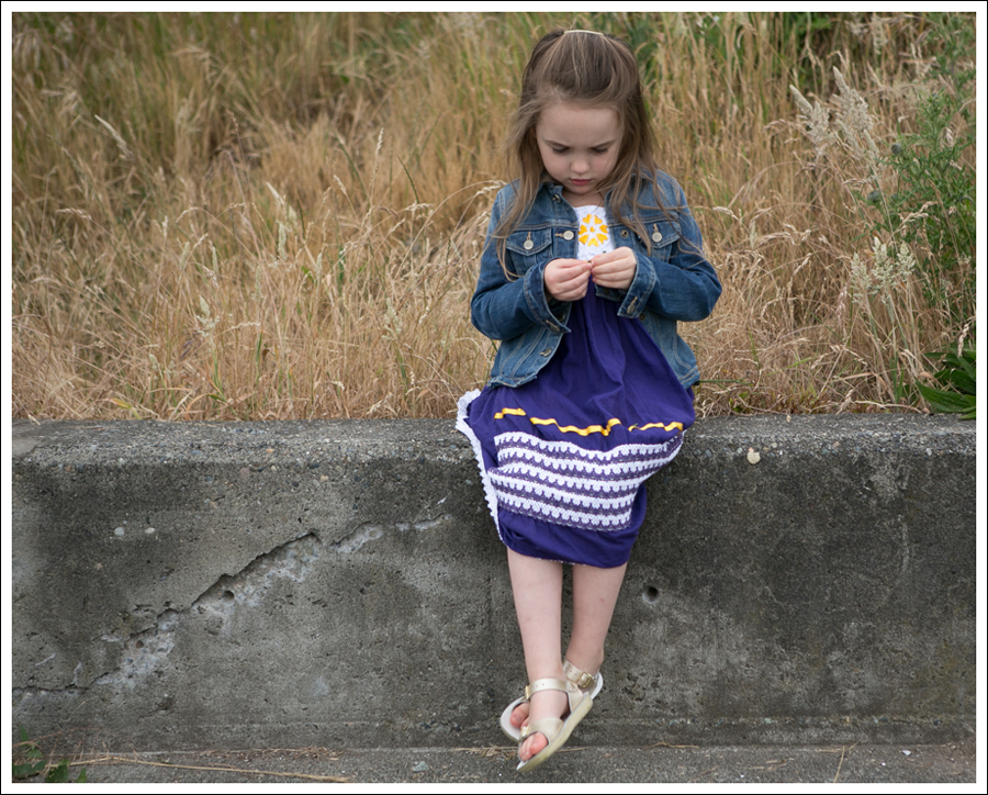 Blog GapKids Denim Jacket Purple Mexican Dress Gold Sun San Salt Water Sandals-4