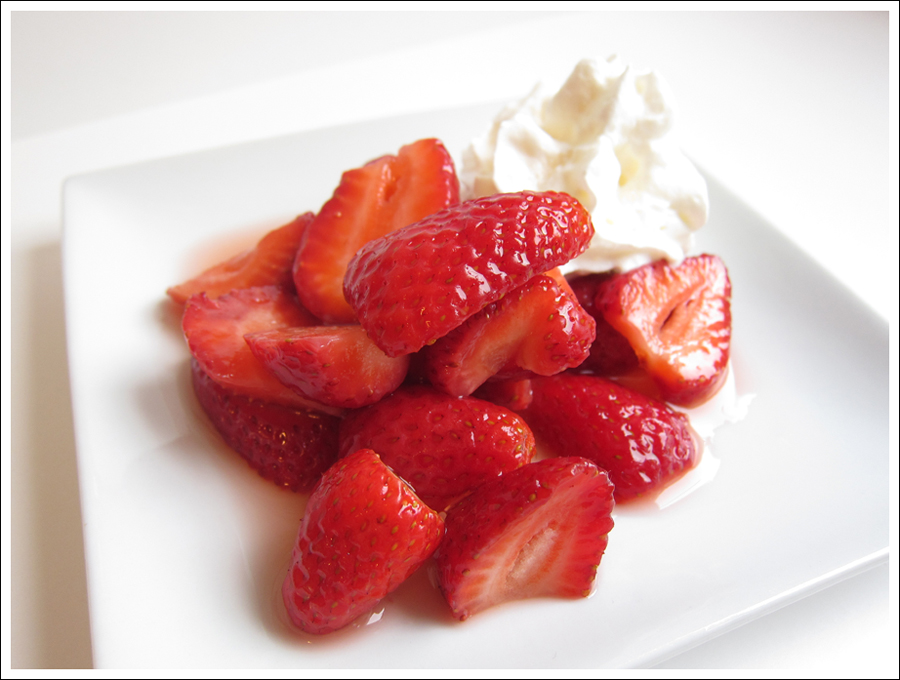 strawberries romanoff blog