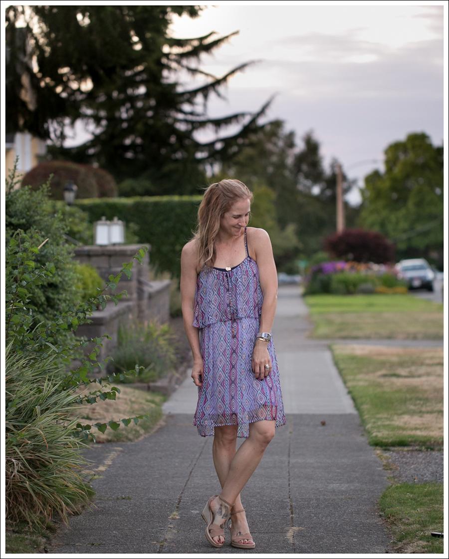 blog Ella Moss Geometric Silk Dress Ugg Espadrilles-1