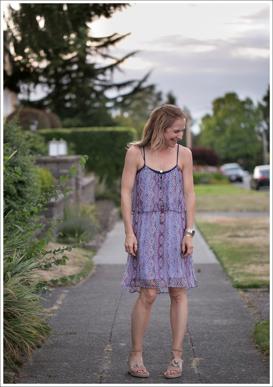 blog Ella Moss Geometric Silk Dress Ugg Espadrilles-2