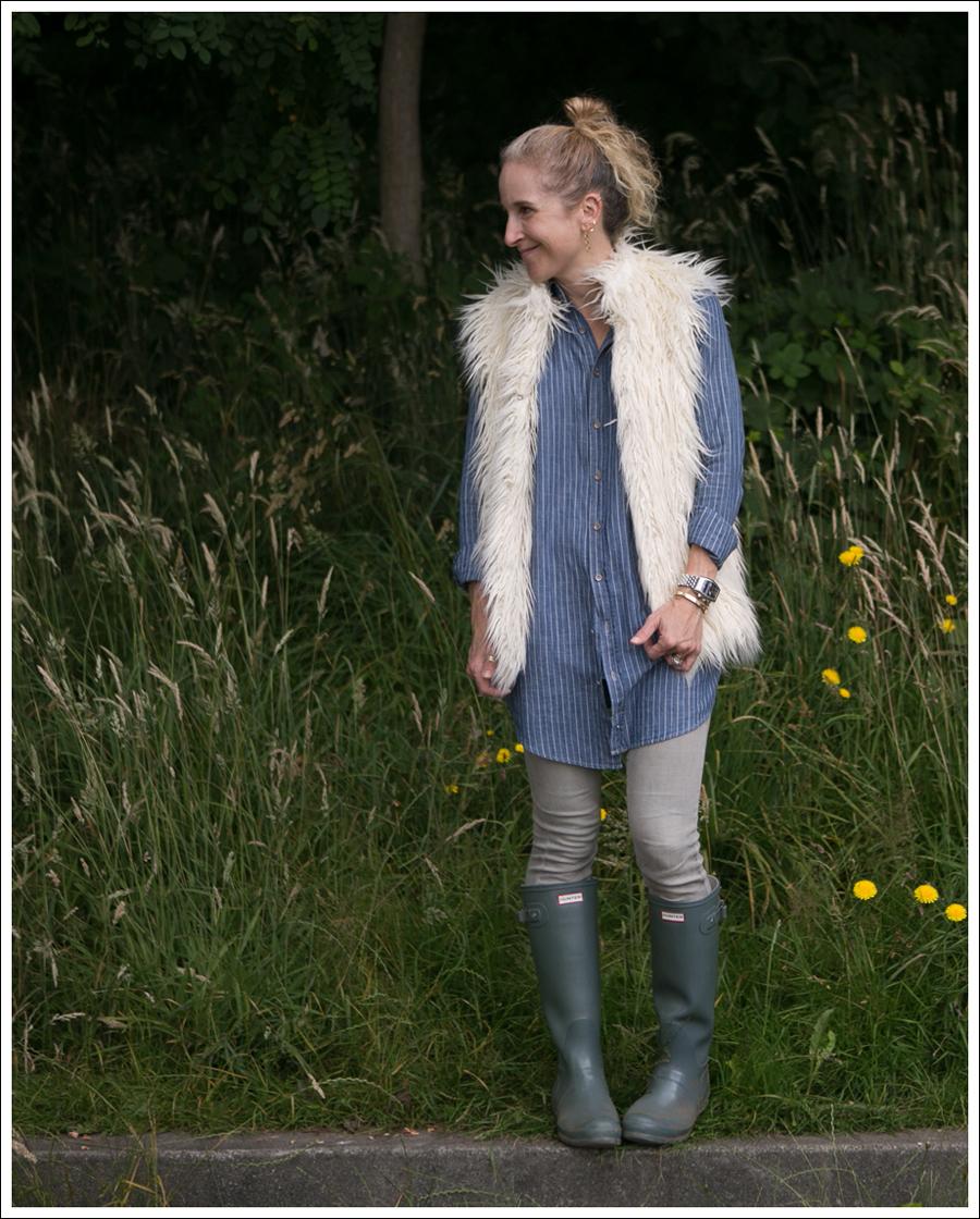 Blog Joie Faux Fur Vest Joes Jeans Tunic Goldsign Gray Hunters-10