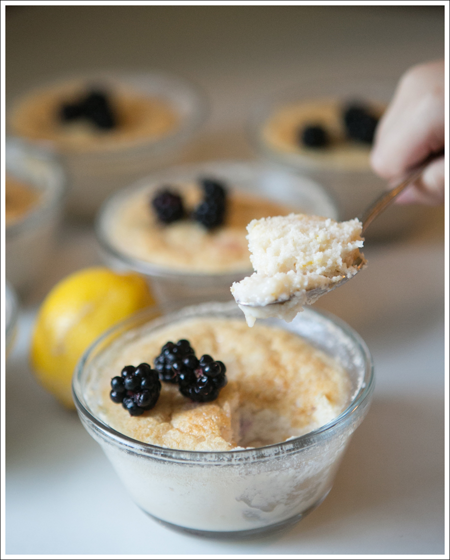 Blog Blackberry lemon pudding cakes-3