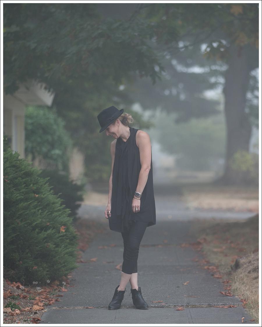 Blog HM Hat 28Twelve Black Dress Helmut Lang 67 Booties-1