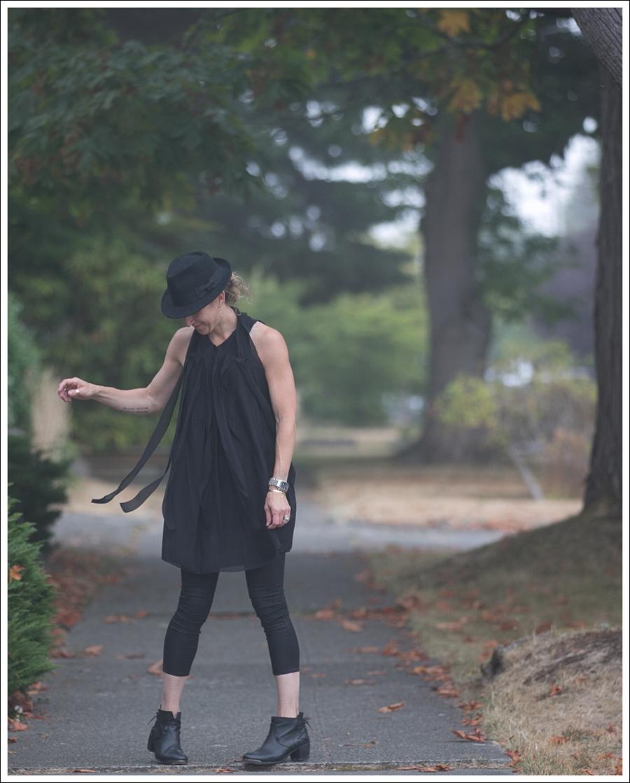 Blog HM Hat 28Twelve Black Dress Helmut Lang 67 Booties-3