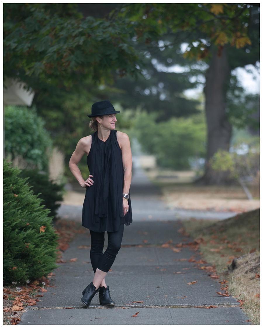 Blog HM Hat 28Twelve Black Dress Helmut Lang 67 Booties-4