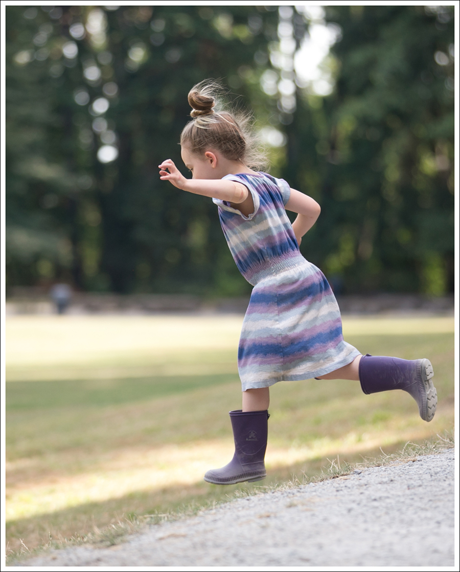 Blog Tea Collection Pupple Blue Dress Kamik Rain Boots-2