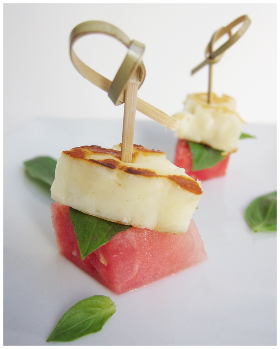 watermelon halloumi basil skewers blog (1)