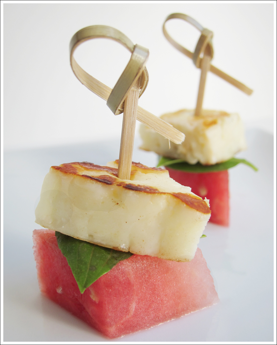 watermelon halloumi basil skewers blog (2)