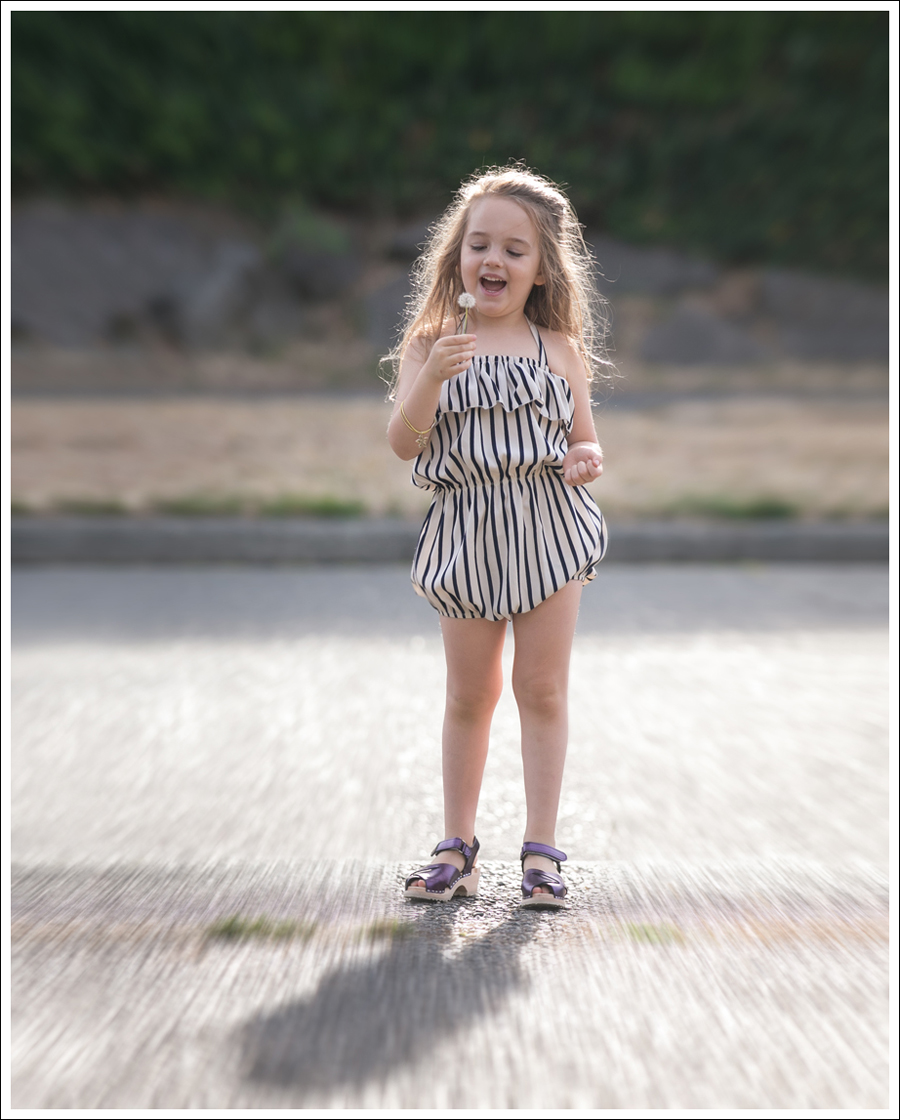 Blog Cru and Lu Striped Playsuit Purple Hanna Andersson Clogs-8
