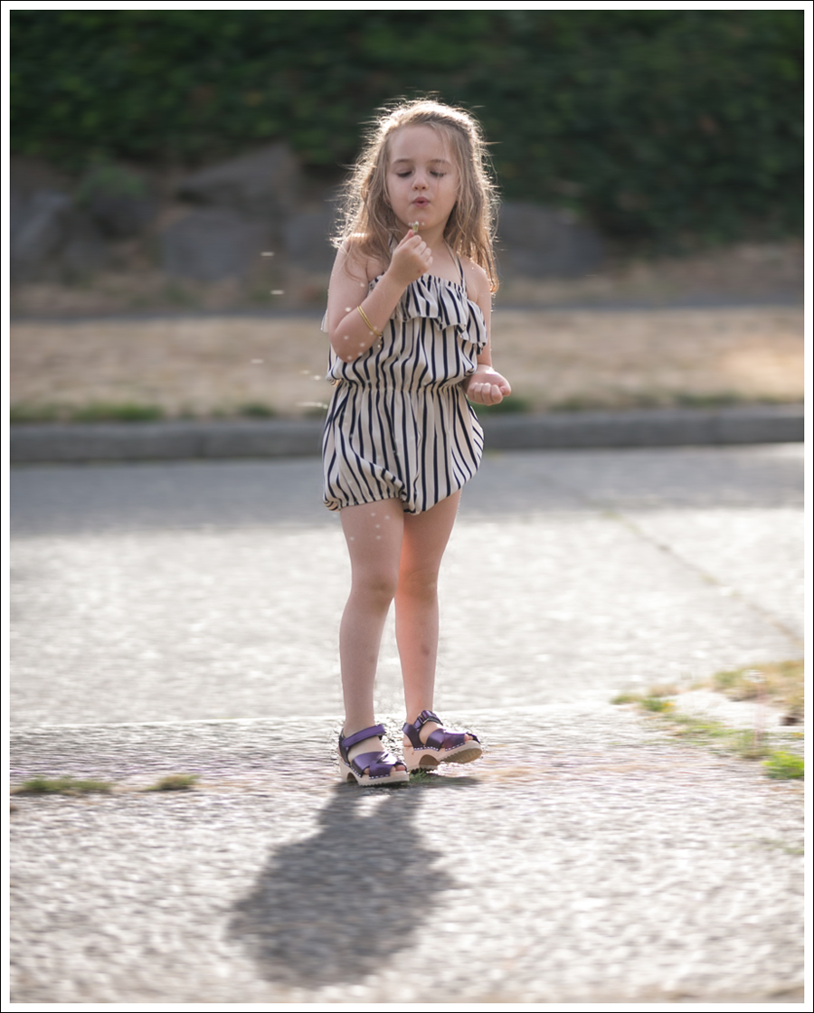 Blog Cru and Lu Striped Playsuit Purple Hanna Andersson Clogs-9