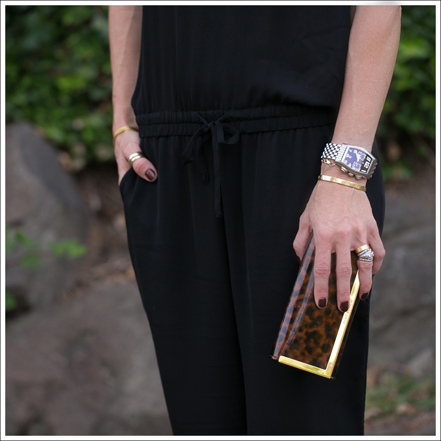 Blog Theory Lortan Jumpsuit Zara Leopard Tie Up Sandals-2