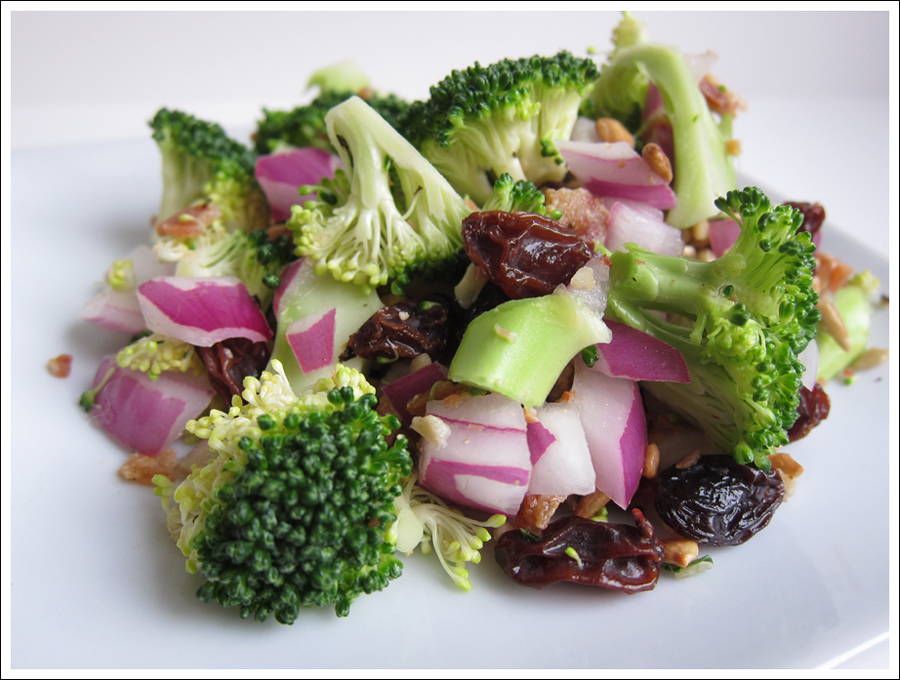 broccoli-bacon-red-onion-salad