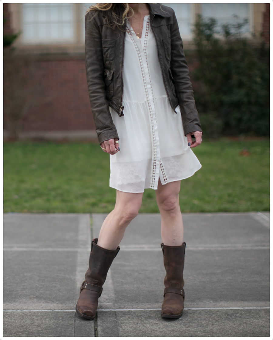 blog-organic-leather-jacket-joie-oshea-dress-frye-harness-boots-1