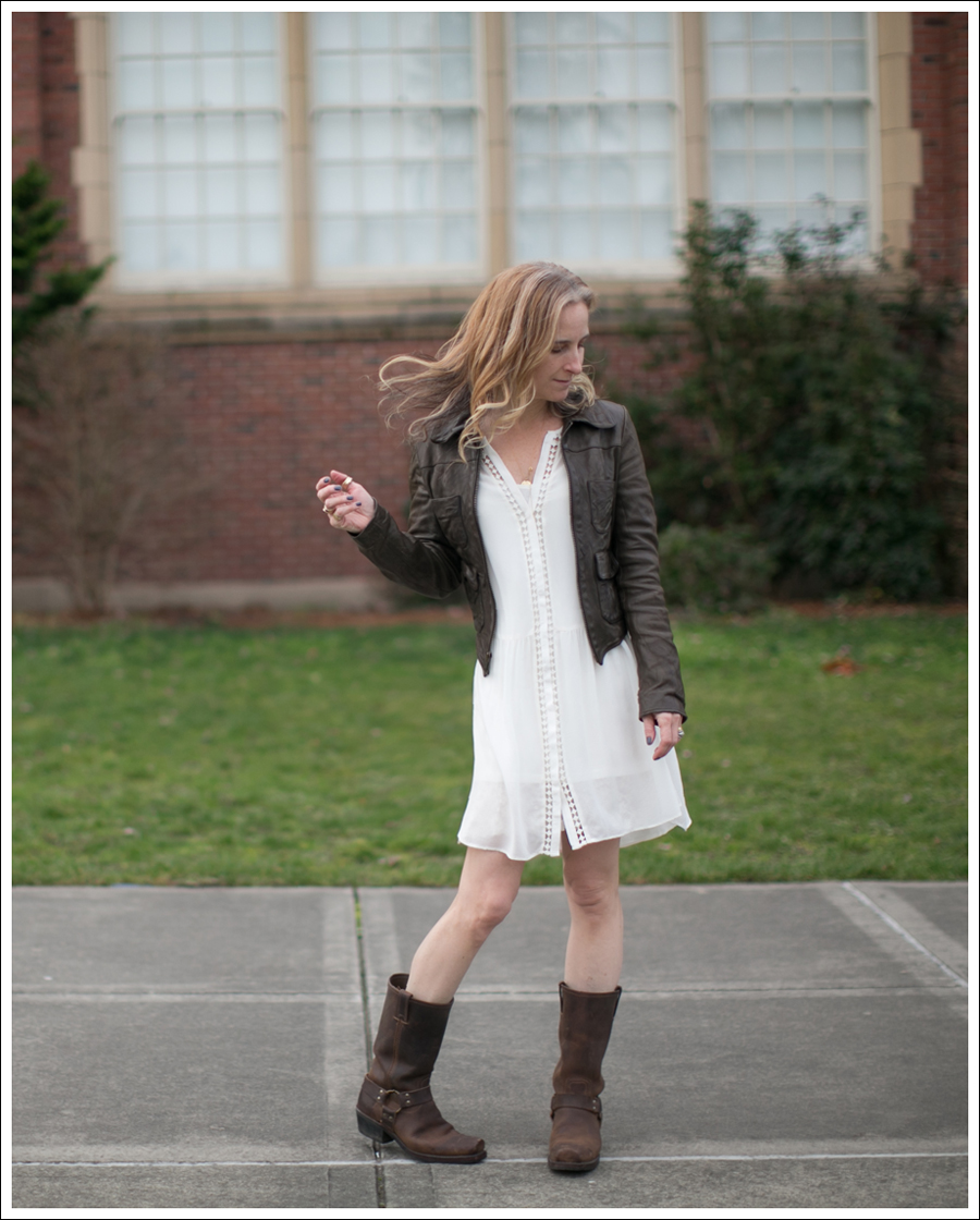 blog-organic-leather-jacket-joie-oshea-dress-frye-harness-boots-2